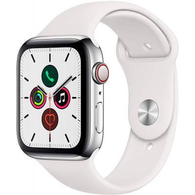 Apple Watch Series 5 LTE 44mm Stainless Steel Silver (MWWF2)