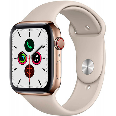 Apple Watch Series 5 LTE 44mm Stainless Steel Gold (MWWH2)
