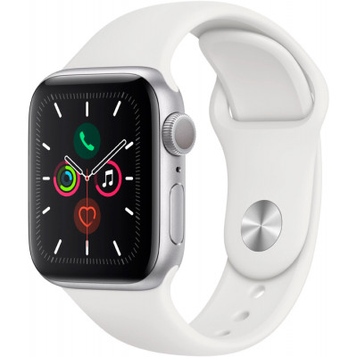 Apple Watch Series 5 LTE 40mm Aluminum Silver (MWX12)